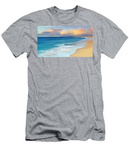 Just Beachy Men's T-Shirt (Athletic Fit)