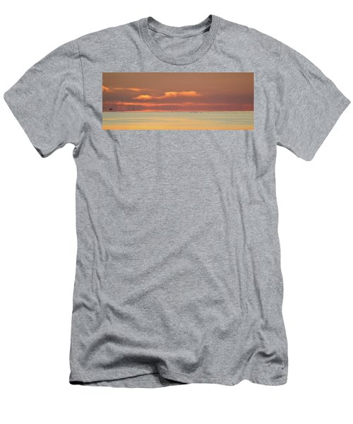 Just Before Sunrise 2  Men's T-Shirt (Athletic Fit)