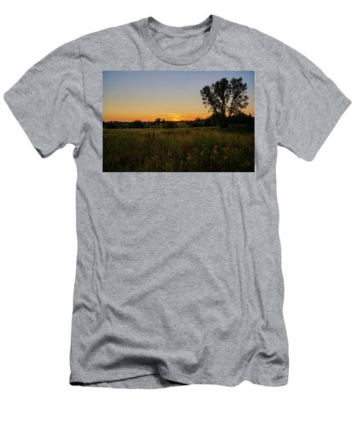 Men's T-Shirt (Athletic Fit) featuring the photograph Just Somewhere by Tgchan