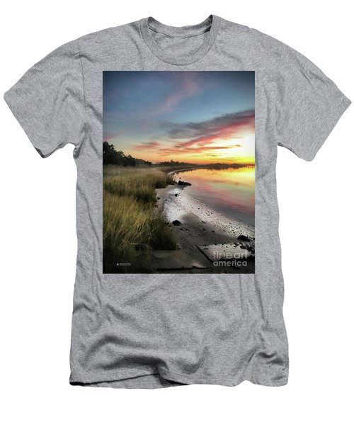 Just The Two Of Us At Sunset Men's T-Shirt (Slim Fit) by Phil Mancuso