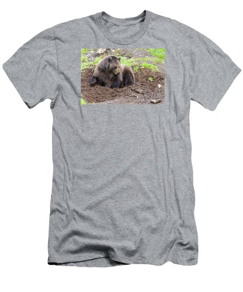 Just Thinkin Men's T-Shirt (Slim Fit) by Harold Piskiel