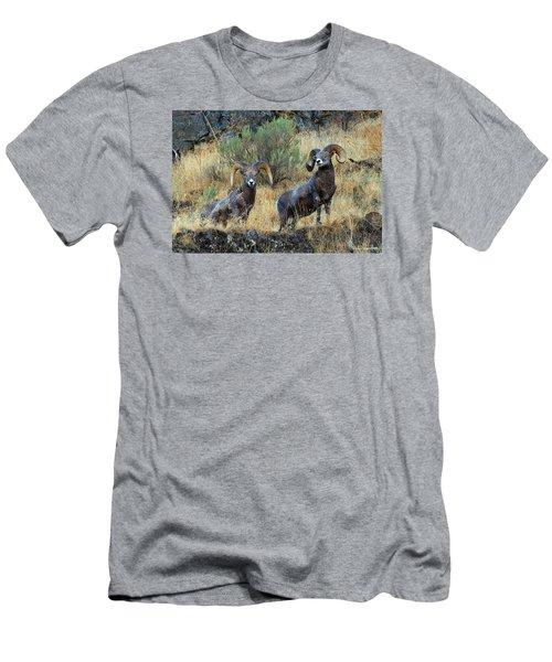 Just Us Men's T-Shirt (Slim Fit) by Steve Warnstaff