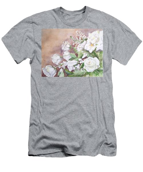 Justin's Flowers Men's T-Shirt (Athletic Fit)