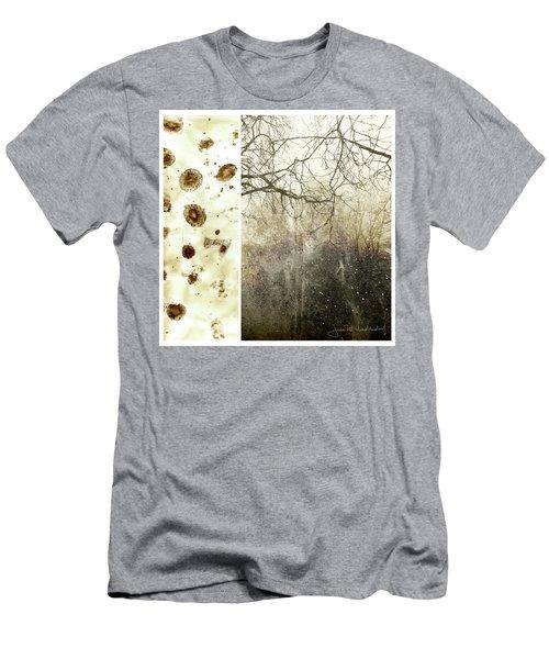 Juxtae #17 Men's T-Shirt (Slim Fit) by Joan Ladendorf