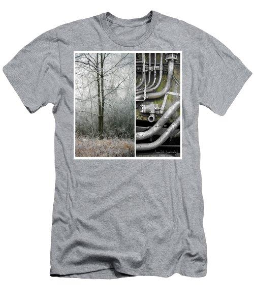 Juxtae #61 Men's T-Shirt (Slim Fit) by Joan Ladendorf