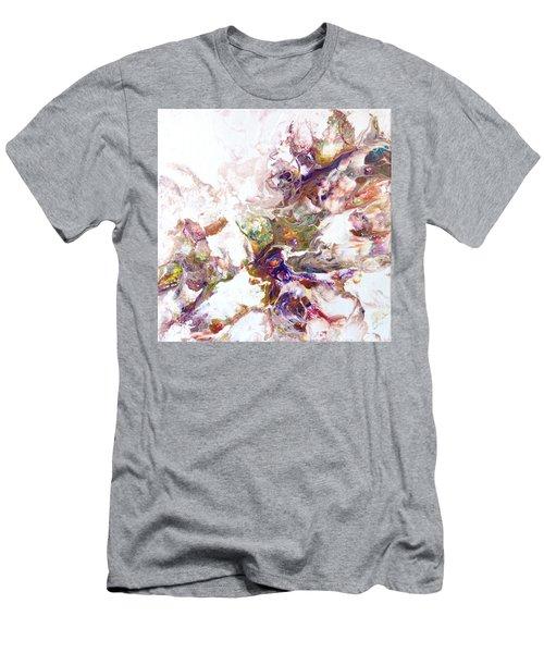 Kaleidescope Of Color Men's T-Shirt (Athletic Fit)