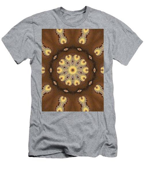 Kaleidoscope 125 Men's T-Shirt (Slim Fit) by Ron Bissett