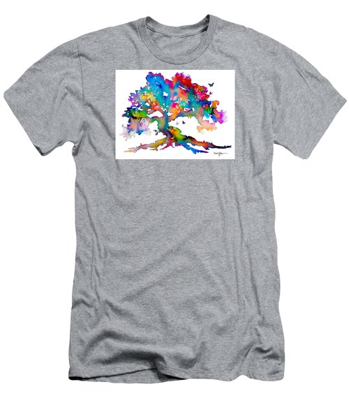 Da186 Kelly's Tree    Daniel Adams Men's T-Shirt (Athletic Fit)