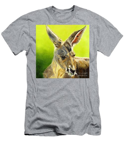Kangeroo Men's T-Shirt (Athletic Fit)