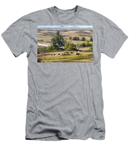 Kansas Plains  Men's T-Shirt (Athletic Fit)