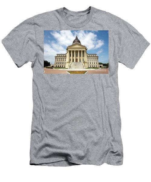 Kansas State Capitol Building Men's T-Shirt (Athletic Fit)