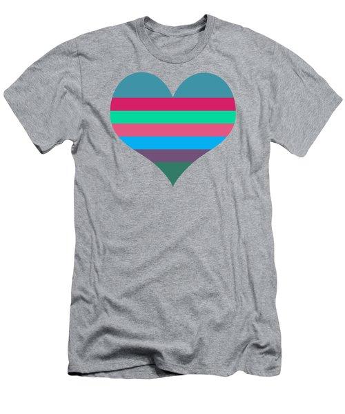 Karen's Heart Men's T-Shirt (Athletic Fit)
