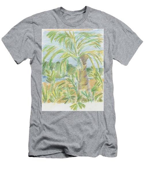 Kauai Palms Men's T-Shirt (Athletic Fit)