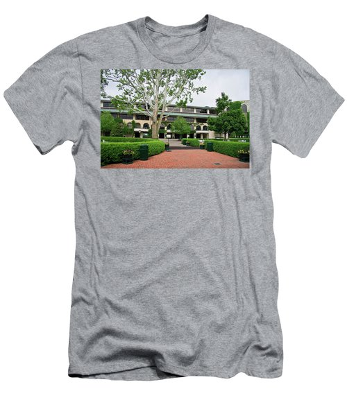 Keeneland Race Track In Lexington Men's T-Shirt (Athletic Fit)
