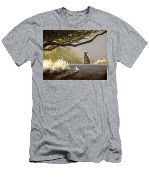 Keeping Watch - Cheetah Men's T-Shirt (Athletic Fit)