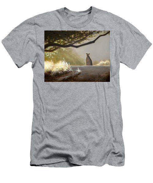 Keeping Watch - Cheetah Men's T-Shirt (Athletic Fit)