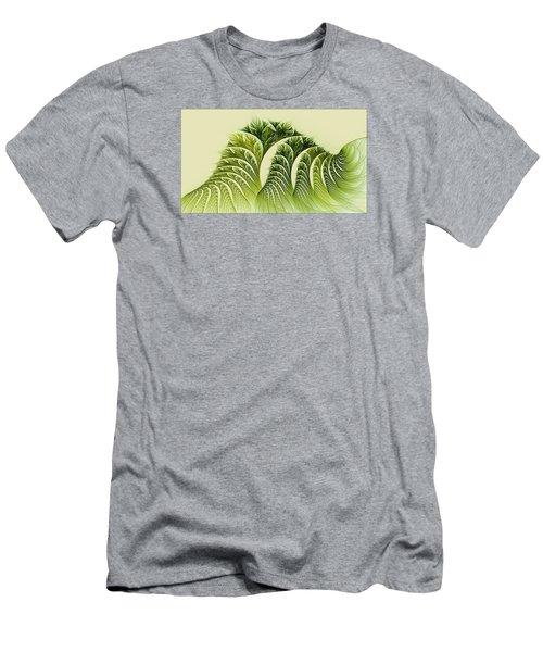 Kelp Towers Of The Fractal Sea Men's T-Shirt (Athletic Fit)
