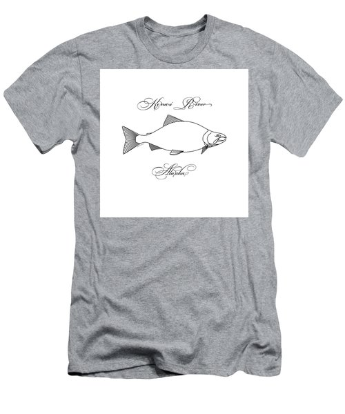 Kenai Sockeye Alaska Men's T-Shirt (Athletic Fit)