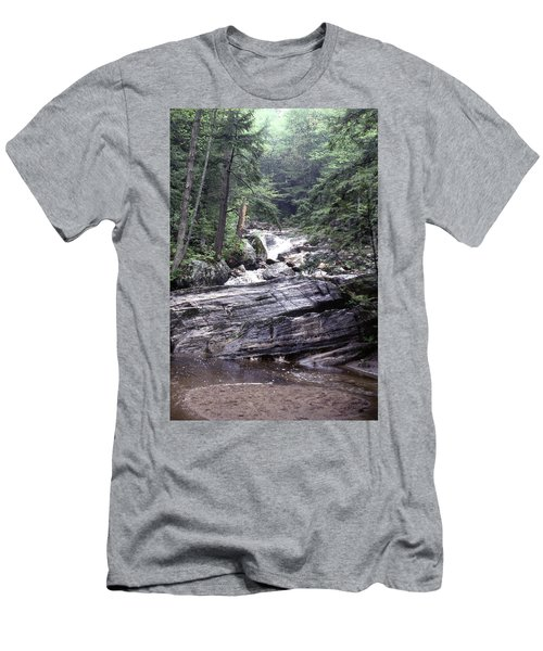 Kent Falls 2 Men's T-Shirt (Athletic Fit)