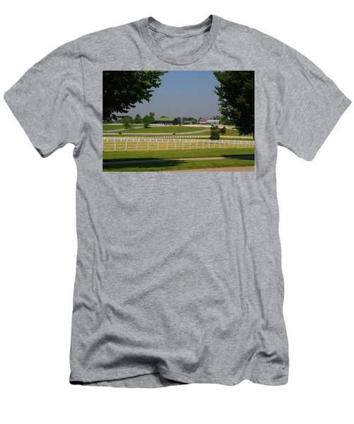 Kentucky Horse Park Men's T-Shirt (Slim Fit) by Kathryn Meyer