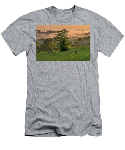 Kentucky Morning Sunshine. Men's T-Shirt (Slim Fit) by Ulrich Burkhalter
