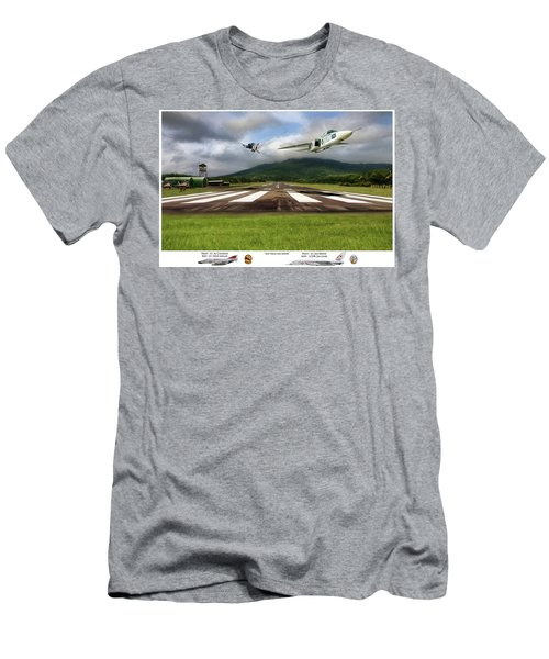 Kep Field Air Show Men's T-Shirt (Slim Fit) by Peter Chilelli