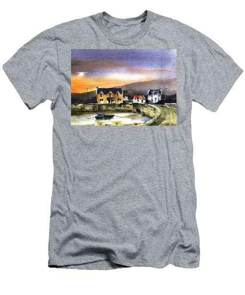 Kerry... Beara. Killmakilloge Harbour Men's T-Shirt (Athletic Fit)