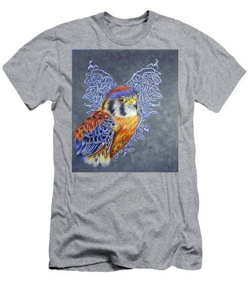 Kestral-celtic Design- Celtic Zodiac Men's T-Shirt (Athletic Fit)