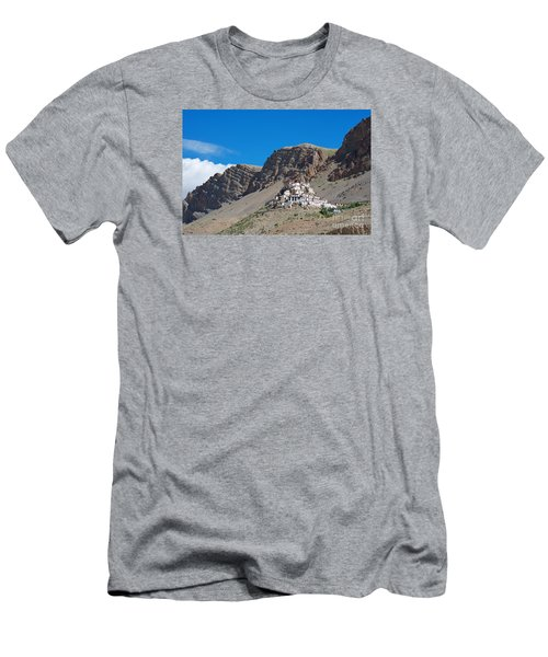 Men's T-Shirt (Athletic Fit) featuring the photograph Key Monastery by Yew Kwang