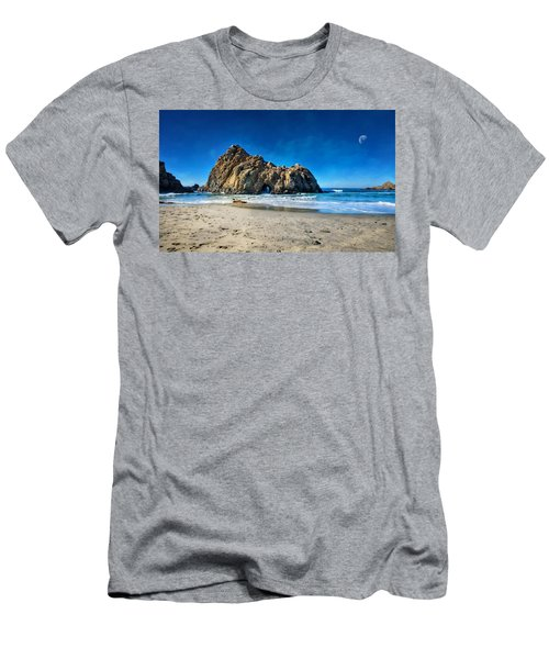 Men's T-Shirt (Slim Fit) featuring the photograph Keyhole Rock At Pheiffer Beach #14 - Big Sur, Ca by Jennifer Rondinelli Reilly - Fine Art Photography