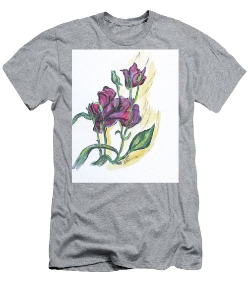 Kimberly's Spring Flower Men's T-Shirt (Athletic Fit)