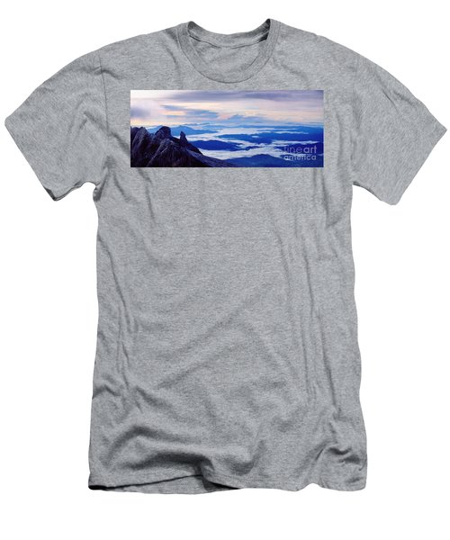 Kinabalu Panorama Men's T-Shirt (Athletic Fit)