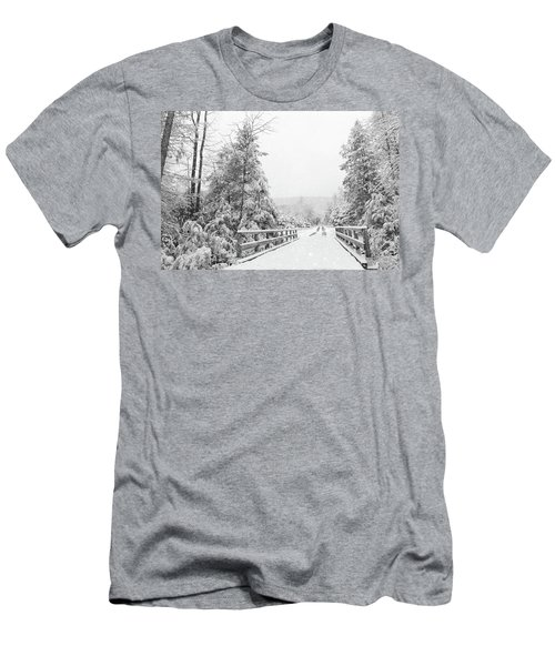 Men's T-Shirt (Slim Fit) featuring the photograph Kindness Is Like Snow by Lori Deiter