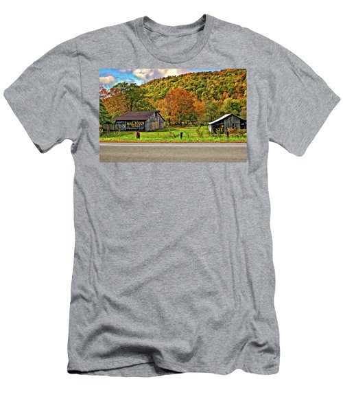 Kindred Barns Men's T-Shirt (Athletic Fit)
