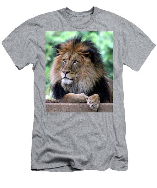 The King's Portrait Men's T-Shirt (Athletic Fit)