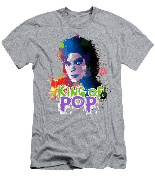 King Of Pop Men's T-Shirt (Athletic Fit)