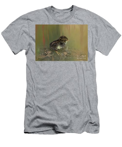 King Quail Chick Men's T-Shirt (Athletic Fit)