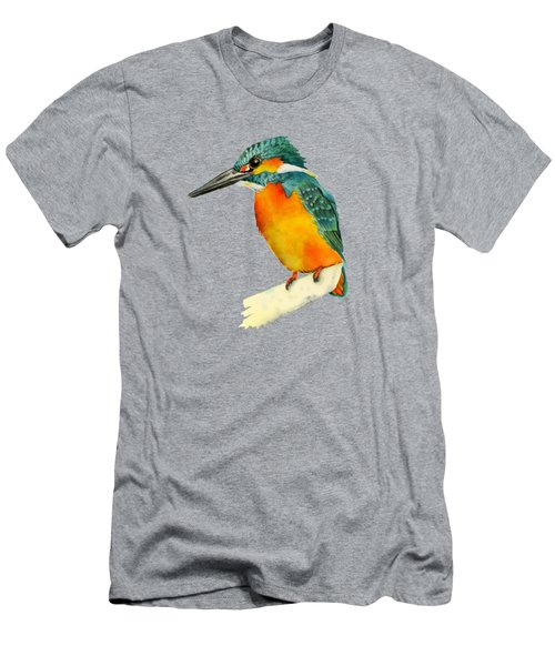 Kingfisher Bird  Men's T-Shirt (Athletic Fit)