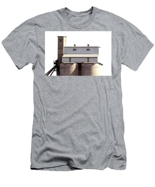 Men's T-Shirt (Athletic Fit) featuring the photograph Kingscote Skyrise by Stephen Mitchell