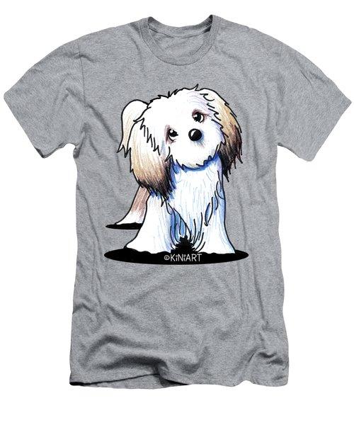 Kiniart Lhasa Apso Men's T-Shirt (Athletic Fit)