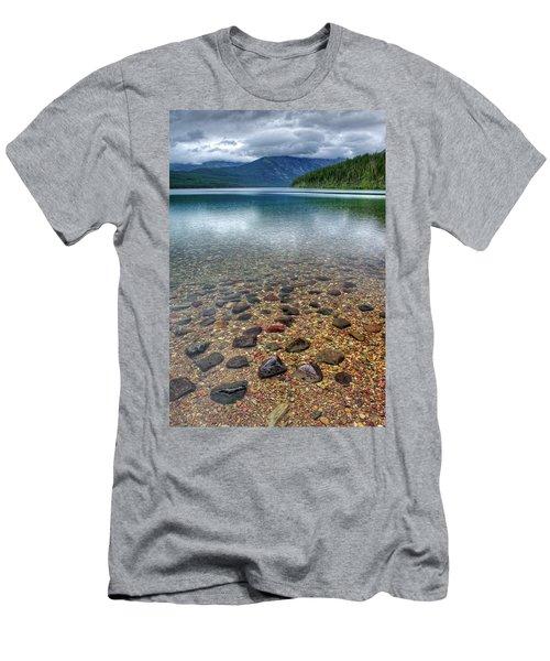 Kintla Lake Men's T-Shirt (Athletic Fit)