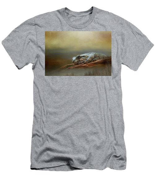 Men's T-Shirt (Slim Fit) featuring the photograph Kiss Me by Steven Richardson