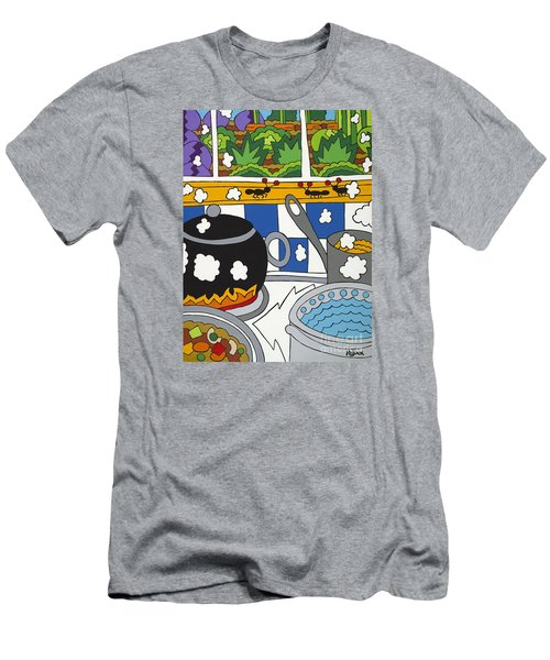 Kitchen Garden Men's T-Shirt (Athletic Fit)