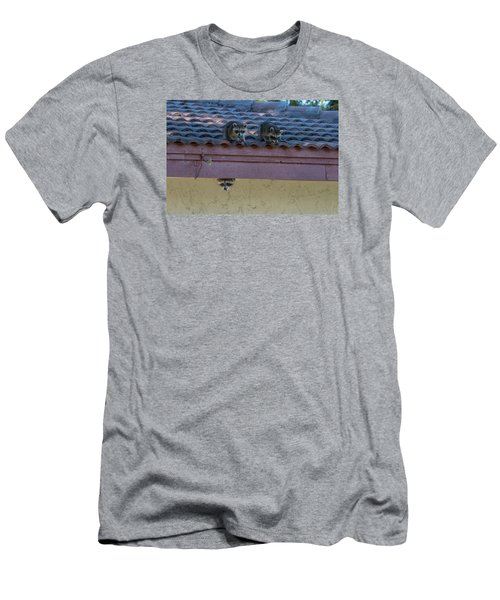Kits On The Roof Men's T-Shirt (Slim Fit) by Dorothy Cunningham