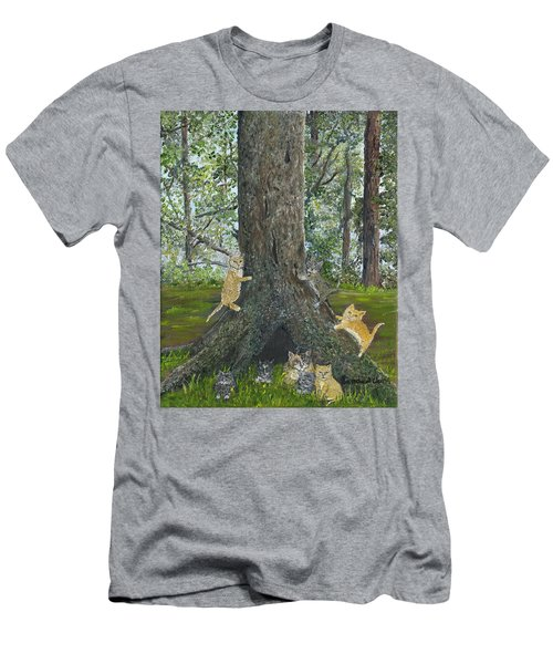 Kitties Men's T-Shirt (Athletic Fit)
