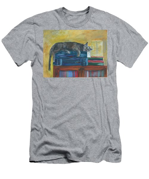 Kitty Comfort Men's T-Shirt (Athletic Fit)