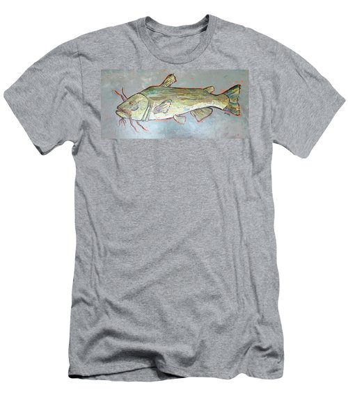 Kitty The Catfish Men's T-Shirt (Athletic Fit)