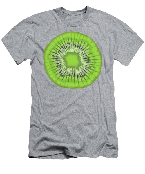 Kiwi Kaliedoscope Men's T-Shirt (Athletic Fit)