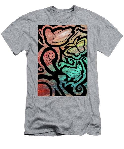 Kiwi Nature Men's T-Shirt (Athletic Fit)