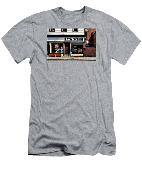 Klipper Kingz - Barber Shop Men's T-Shirt (Athletic Fit)